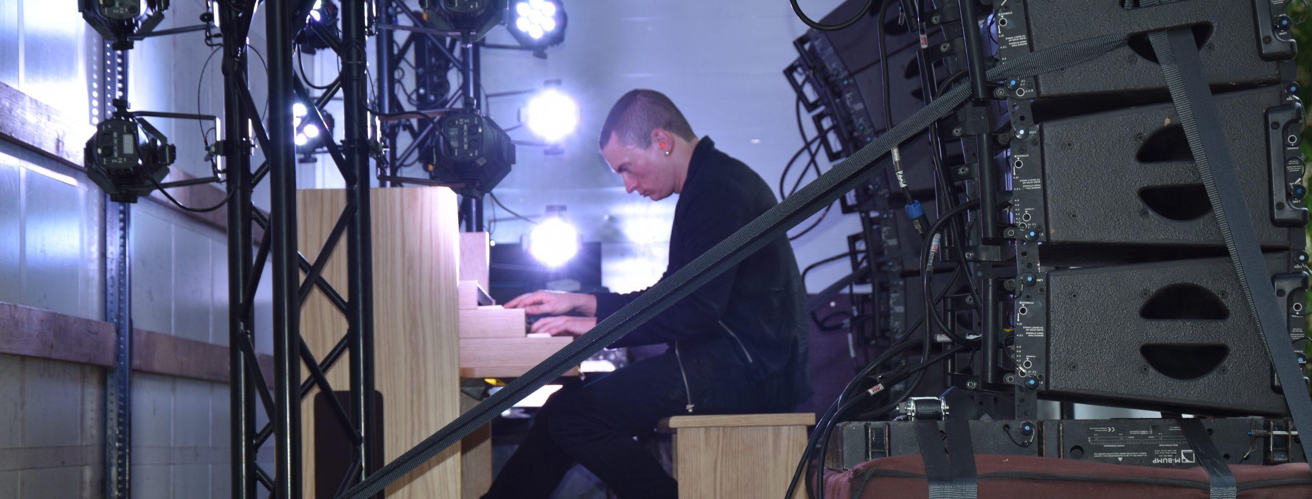 Orgel Star Cameron Carpenter zu Gast in der Südstadt